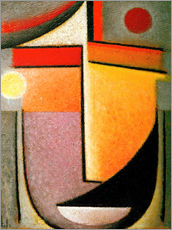 Wall sticker  Abstract head: Morning light - Alexej von Jawlensky