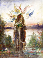 Wall sticker  The sacred elephant - Gustave Moreau