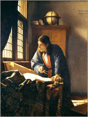 Wall sticker  A geographer or astronomer in his study - Jan Vermeer