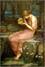 Gallery print  Psyche opening the golden box - John William Waterhouse