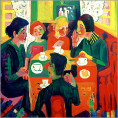 Gallery print  Coffee table - Ernst Ludwig Kirchner