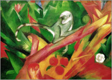 Acrylic print  The monkey - Franz Marc