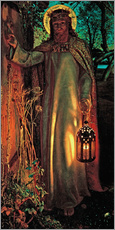 Gallery print  The Light of the World - William Holman Hunt