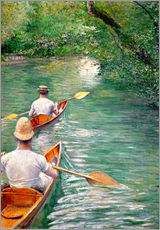 Wall sticker  Paddle boats - Gustave Caillebotte
