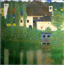 Gallery print  Castle chamber on the Attersee I - Gustav Klimt