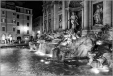 Wall sticker  Trevi fountain in Rome - Filtergrafia