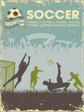 Gallery print  Soccer poster - TAlex