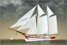 Gallery print  Sailing boat, two-masted sailing boat - Kalle60