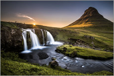 Gallery print  Fair Tyle Countryside in Iceland - Andreas Wonisch