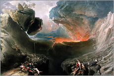 Gallery print  The Great Day of His Wrath, engraved by Charles Mottram - John Martin