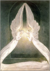 Wall sticker Christ in the Sepulchre, Guarded by Angels