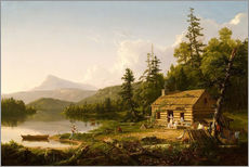 Gallery print  Home in the Woods - Thomas Cole