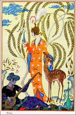 Wall Sticker  The art of perfume, 1912 - Georges Barbier