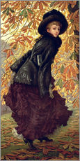 Gallery print  October - James  Tissot