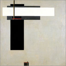 Wall sticker  Composition Proun GBA 4 - El Lissitzky