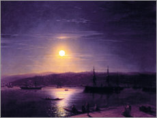 Canvas print  Constantinople at night - Ivan Konstantinovich Aivazovsky