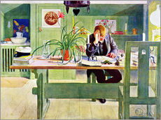Wall Stickers  The Study Room - Carl Larsson