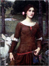 Gallery print  Lady Clare - John William Waterhouse