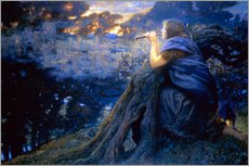 Gallery print  Twilight Fantasies - Edward Robert Hughes
