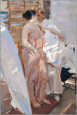 Wall sticker  After the bath - Joaquin Sorolla y Bastida
