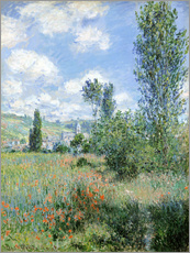 Wall sticker  Way through the poppies - Claude Monet