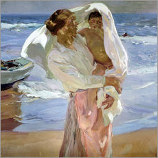 Wall sticker  Just out of the sea - Joaquín Sorolla y Bastida