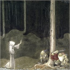 Wall Stickers  Brother St. Martin and the Three Trolls - John Bauer