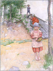 Gallery print  By the cellar - Carl Larsson