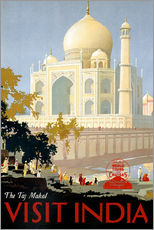 Wall sticker  Indien - Taj Mahal - Travel Collection