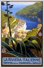 Gallery print  La Riviera Italienne - Travel Collection