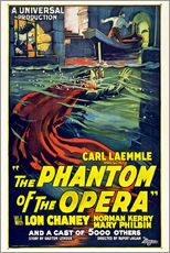 Gallery print  The Phantom of the Opera - Entertainment Collection
