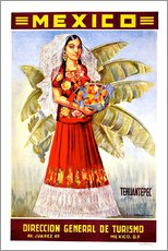 Gallery print  Mexico - Tehuantepec - Travel Collection