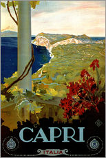 Wall sticker  Italy - Capri - Travel Collection