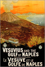 Gallery print  Italy - Vesuvius and the Gulf of Naples - Travel Collection