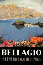 Gallery print  Italy - Bellagio - Travel Collection