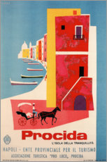 Wall sticker  Italy - Procida - Travel Collection