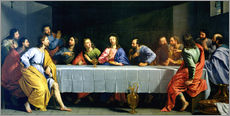 Wall sticker  The Last Supper, called 'The Little Last Supper' - Philippe de Champaigne