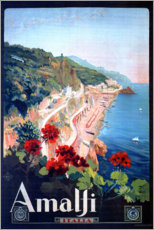 Gallery print  Amalfi, Italy - Travel Collection