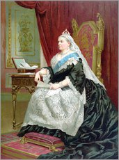 Wall sticker  Portrait of Queen Victoria on her Golden Jubilee - English School