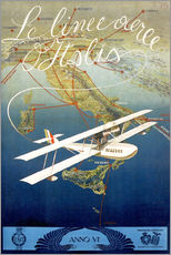 Gallery print  Italian airline - Advertising Collection
