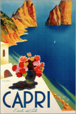 Gallery print  Italy - Summer Island of Capri - Travel Collection