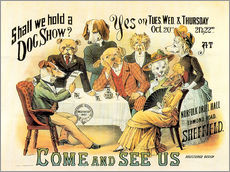 Wall sticker  Dog Show - Advertising Collection
