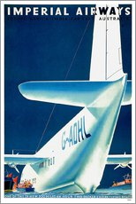 Gallery print  Imperial Airways - seaplane - Travel Collection