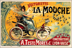 Gallery print  Voiturette La Mouche - Advertising Collection