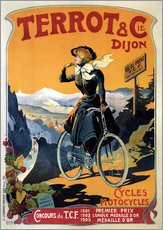 Gallery print  Terrot & Cie Dijon bicycles and motorcycles - Advertising Collection