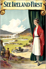 Wall sticker  see Ireland first - Travel Collection
