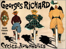 Gallery print  Georges Richard bicycles - Fernand Fernel