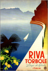 Premium poster  Riva Torbole, Italy (Lago di Garda) - Travel Collection