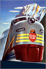 Gallery print  Canadian Pacific train
