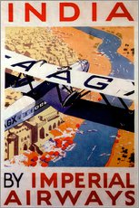 Wall Stickers  India tour with Imperial Airways